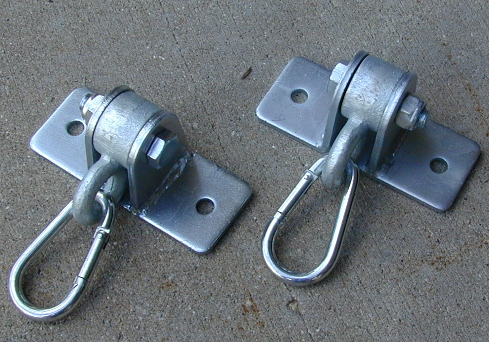 Swing Hanger-2 Hole - Welded Steel-Set of 2